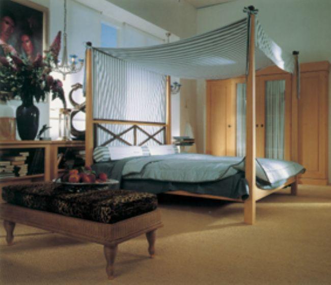 Camas con dosel camas dosel de madera maciza - Cama dosel madera ...